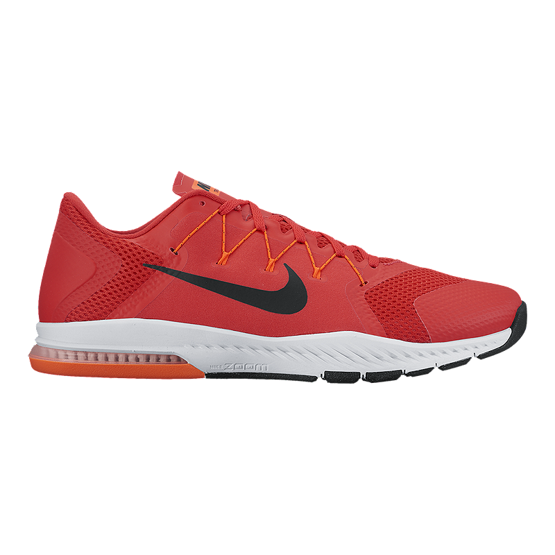 1eb771f53d75 Nike Men s Zoom Train Complete Training Shoes - Red Black White ...
