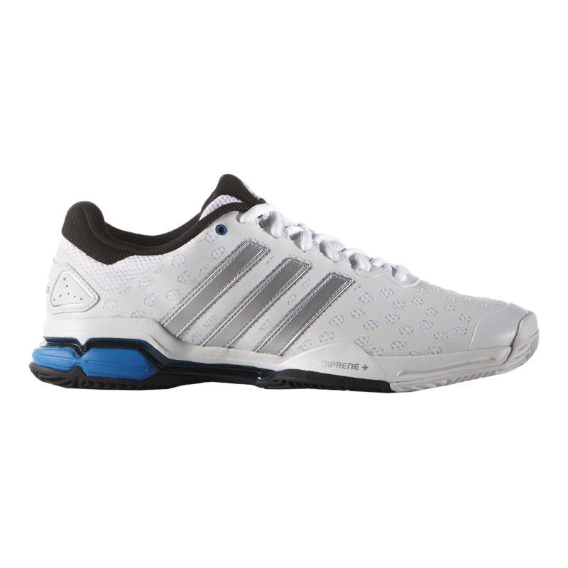adidas s barricade club tennis shoes white black