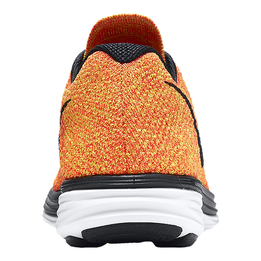 new products e7375 c1e2b Nike Women s FlyKnit Lunar 3 Running Shoes - Orange Yellow Black. (0). View  Description