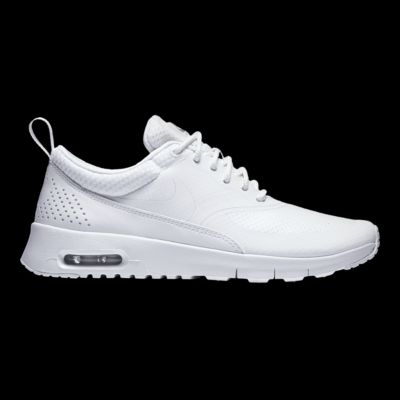 Nike Girls' Air Max Thea Grade School Casual Shoes White/Silver