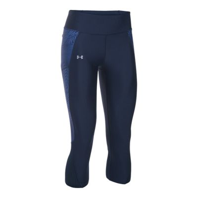 Under Armour Run Fly By Graphic Women's Capri Tights