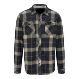 O'Neill Glacier Big Plaid Men's Long Sleeve Top