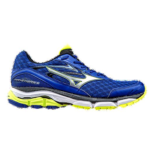 b49d0ad4d2e7 Mizuno Men's Wave Inspire 12 Running Shoes - Blue/Yellow | Sport Chek