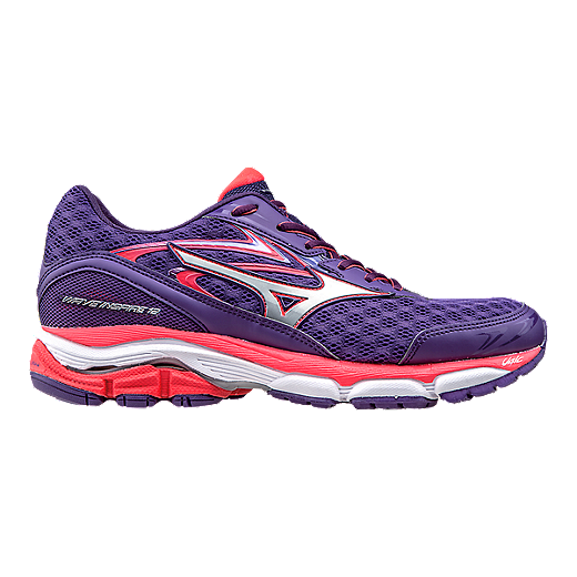 eeb1b2e7c2c0 Mizuno Women's Wave Inspire 12 Running Shoes - Purple/Orange | Sport Chek