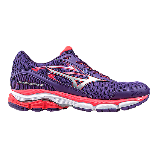 innovative design 3ac03 ff21a Mizuno Women s Wave Inspire 12 Running Shoes - Purple Orange   Sport Chek