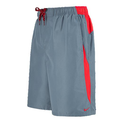 da519268fd Nike Men's Core Contend Volley Shorts - 483 BLUE GRAPHITE