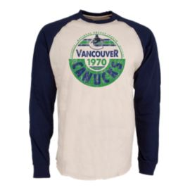 Vancouver Canucks Spheric Raglan Long Sleeve Shirt