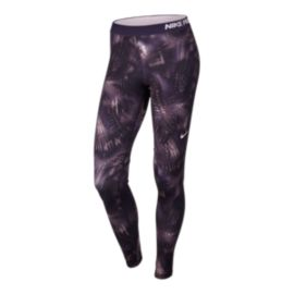 Nike Pro Warm Notebook Allover Print Women's Tights