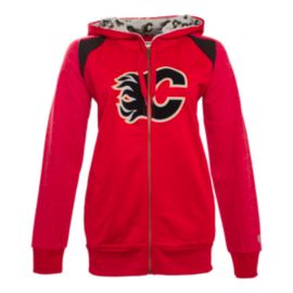 Calgary Flames Women's Ellie Full Zip Hoodie