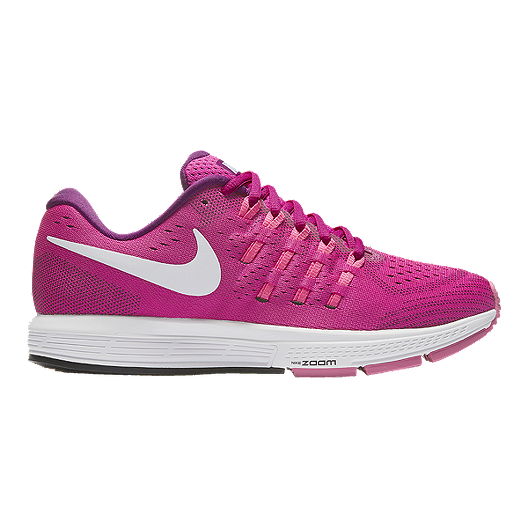 ac9b143eedfe Nike Women s Air Zoom Vomero 11 Running Shoes - Berry Pink White ...