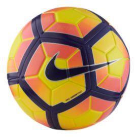 Nike Strike Size 5 Soccer Ball - Yellow/Purple
