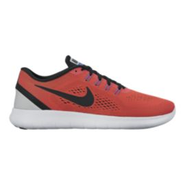Nike Men's Free RN 2016 Running Shoes - Orange/Black