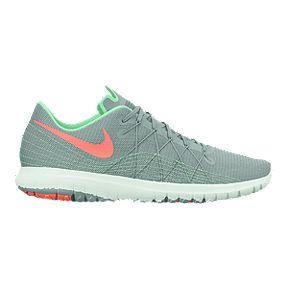 2ca60faca14e Clearance. Nike Women s Flex Fury 2 Running Shoes - Grey Mint Green Pink