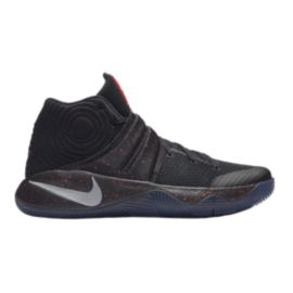 Nike Men's Kyrie 2 Basketball Shoes - Black/Silver/Red