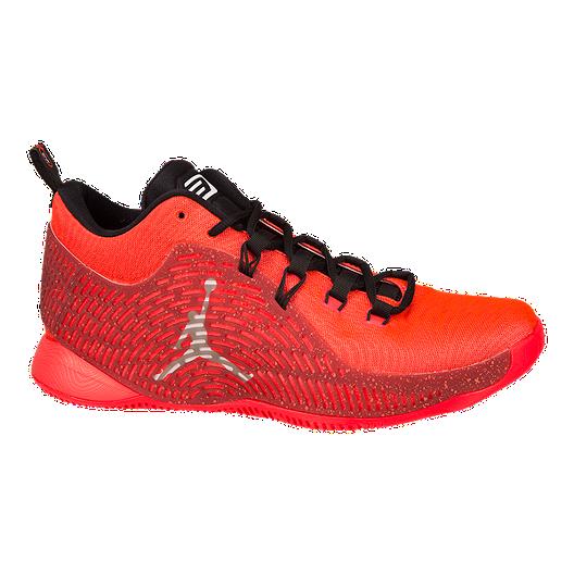950ac2bd2f9 Nike Men's Jordan CP3.X Basketball Shoes - Red/Black/Orange | Sport Chek