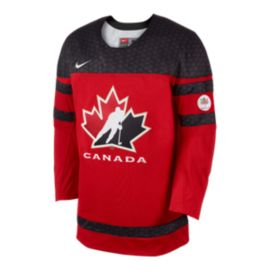 Team Canada Nike Twill Hockey Jersey