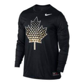Nike Team Canada Noise Legend Long Sleeve T Shirt