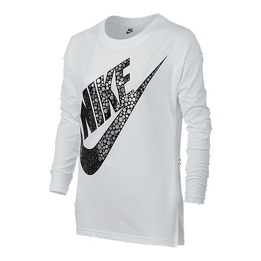 e72752c3 Nike Sportswear Girls' Signal Long Sleeve Shirt | Sport Chek