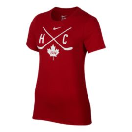 Nike Women's Team Canada Faceoff T Shirt