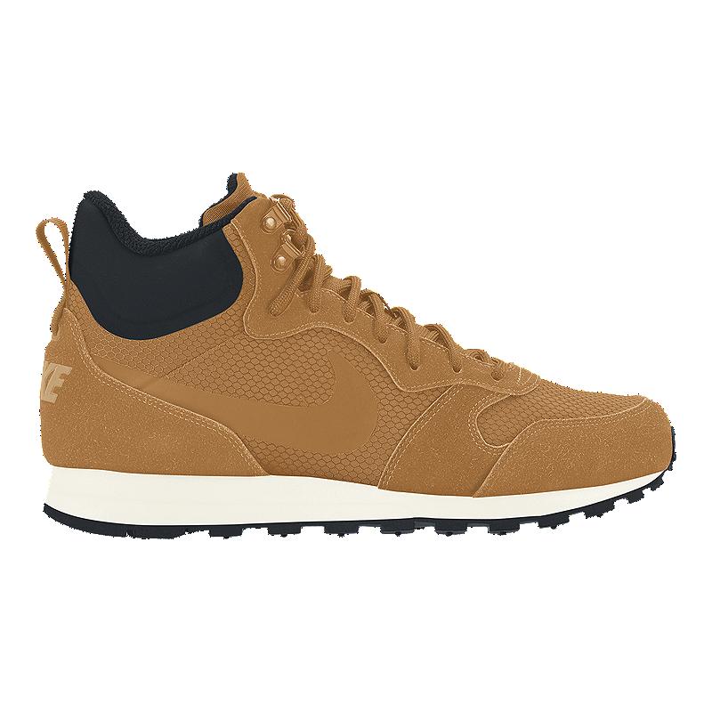 10d3d31b2a Nike Men s MD Runner 2 Mid Premium Shoes - Wheat