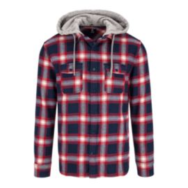 DC Runnels Men's Long Sleeve Flannel Top