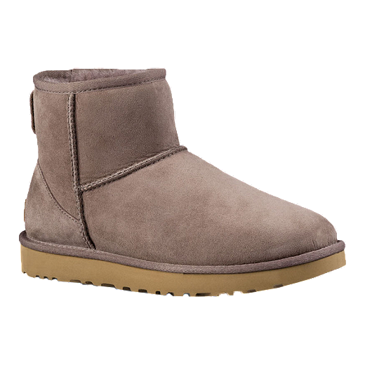 designer fashion 2019 professional unique style UGG Women's Classic II Mini Winter Boots - Stormy Grey