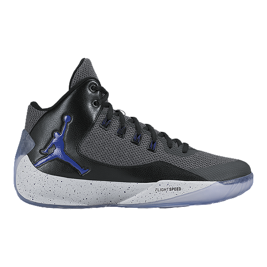outlet store 18ec5 183bd Nike Men's Jordan Rising High 2 Basketball Shoes - Grey ...