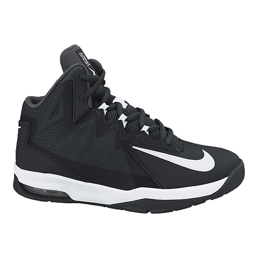 new concept 7d301 59bd7 Nike Kids  Air Max Stutter Step 2 Grade School Basketball Shoes -  Black White   Sport Chek