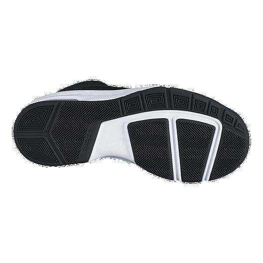 various colors 6f2c0 b0b12 Nike Kids  Air Max Stutter Step 2 Grade School Basketball Shoes -  Black White