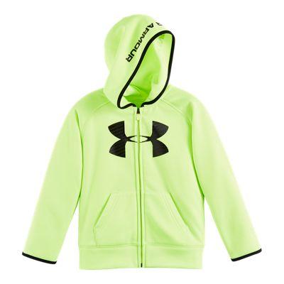 Under Armour Boys' 4-7 Armour® Fleece Highlight Full Zip Hoodie
