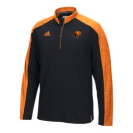 B.C Lions Knit 1/4 Zip Long Sleeve Top