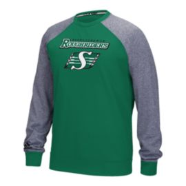 Saskatchewan Roughriders Raglan Fleece Long Sleeve Top