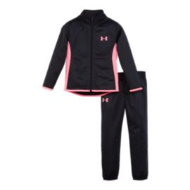 Under Armour Girls' 4-6X Super Fan Track Set