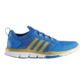 adidas Men's Speed Trainer 2 Training Shoes - Blue/Gold