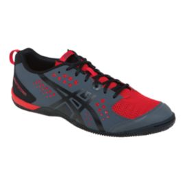 ASICS Men's Gel Fortius TR Training Shoes - Grey/Red/Black