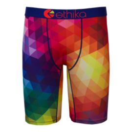 Ethika Spectrum Men's Boxer Brief - Pattern