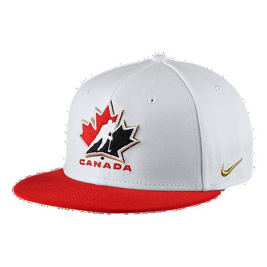 245358fd3f2 Nike Team Canada True Snapback Hat