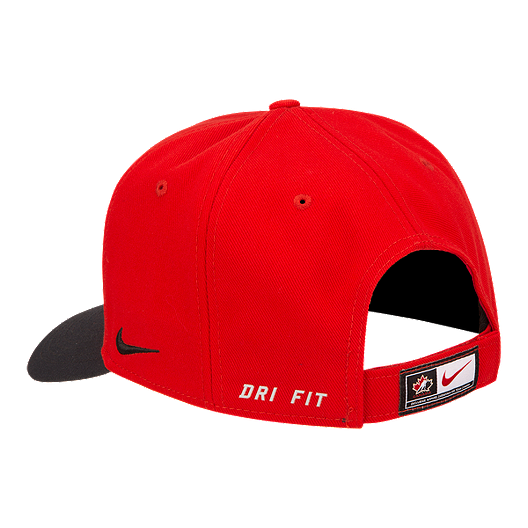 77d5d814be7 Nike Team Canada Classic 99 Adjustable Hat
