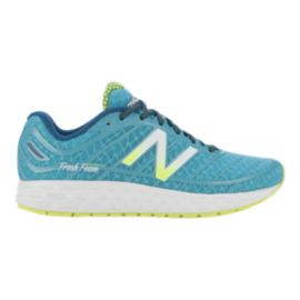 New Balance Women's 980v2 B Running Shoes - Blue/Green/White
