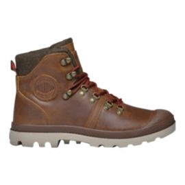 Palladium Men's Pallabrouse Hiker Casual Boots - Brown