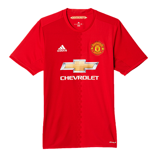 df5de732f Manchester United Home Jersey - RED