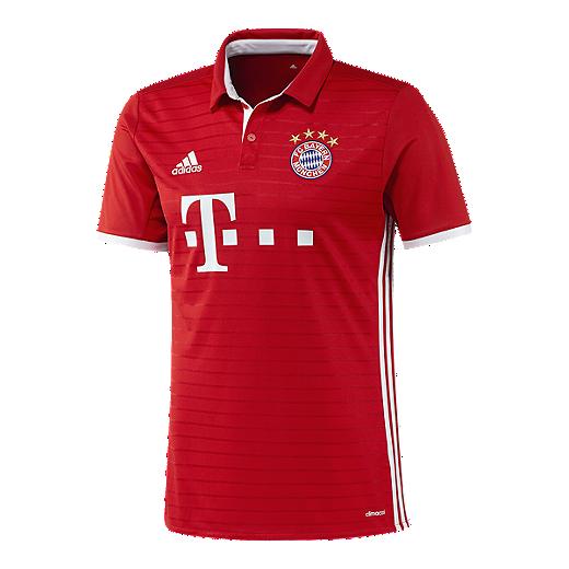 f87a77a34df Bayern Munich 2016/17 adidas Men's Home Jersey | Sport Chek