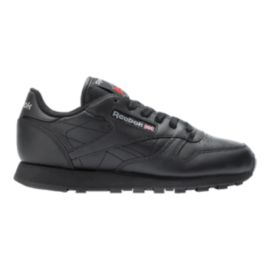 Reebok Women's Classic Leather Shoes - Black