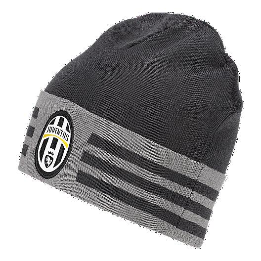 14d94436315d8 Juventus FC 3 Stripes Woolie Beanie