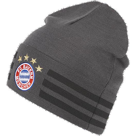 befadbed0bd Bayern Munich 3 Stripes Woolie Knit Beanie