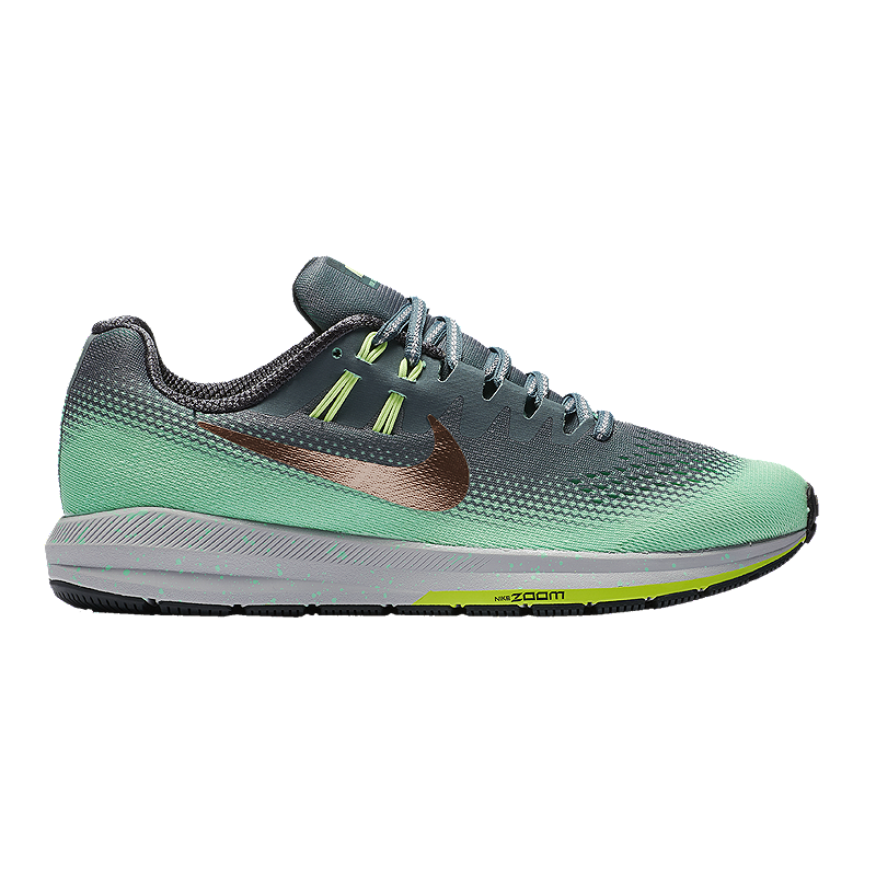 preschool nike Air Zoom Structure 20 Nike Women's Air Zoom Structure 20 Shield Running Shoes - Teal ...