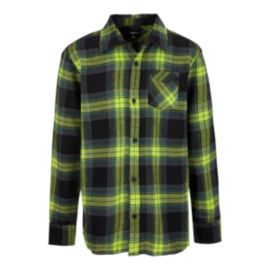 Fox Hollenberg Boys' Flannel Top