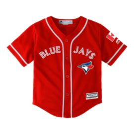 Toronto Blue Jays Little Kids' Canada Day Baseball Jersey