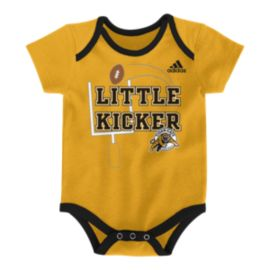 Hamilton Tiger Cats 3 Piece Baby Bodysuit Set