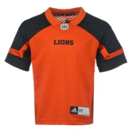 BC Lions Baby Replica Home Football Jersey